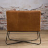 Tower Living Fauteuil 'Rodeo' - Leder Rust