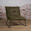 Tower Living Fauteuil 'Seda' - green