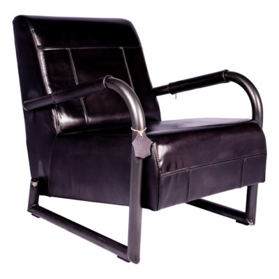 Fauteuil Tom - Rond - Buffalo Black