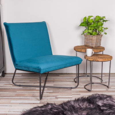 Zitzz - Fauteuil Lee - Turquoise