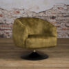 Fauteuil Barga - Stof Velvet Bliss 19 Green