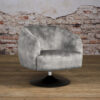 Fauteuil Barga - Stof Velvet Bliss 4 Grey (2)