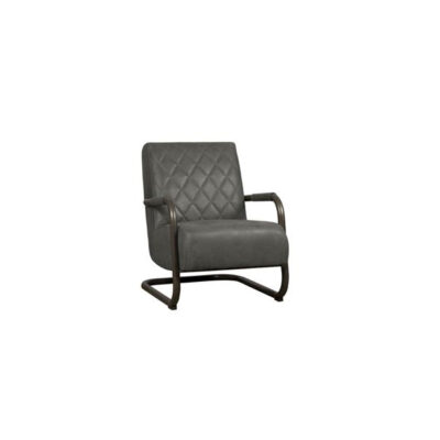 Tower Living - Fauteuil Civo - Bull Antracite