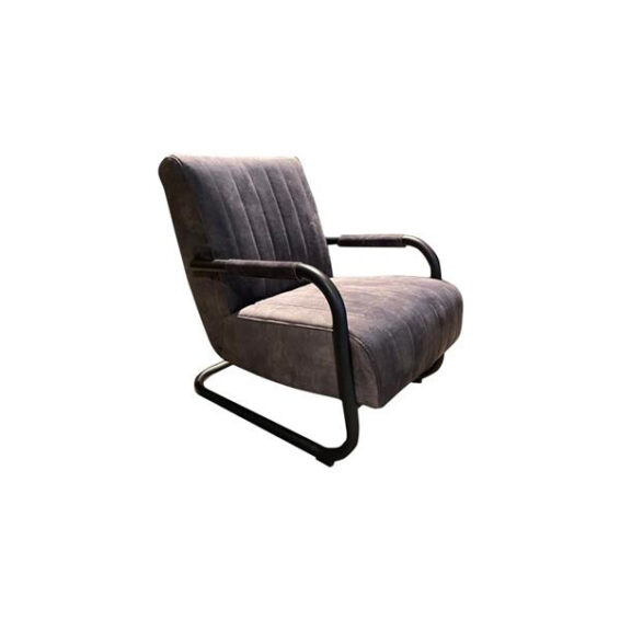 Tower Living - Fauteuil Riva - Adore antracite