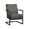 Tower Living - Fauteuil Rocca - Bull Antraciet