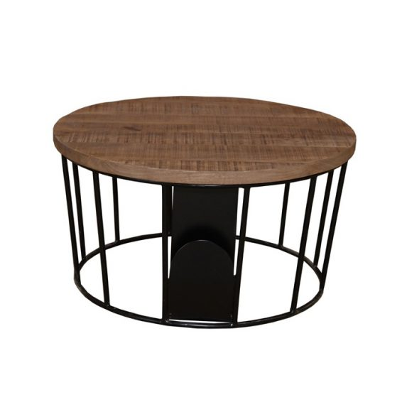 Moods tableset black and natural mangowood 90 90 43